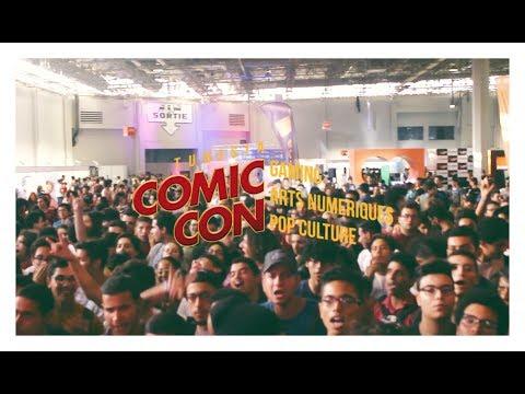 Comic Con Tunisia Vlog 2017 #CCTUN