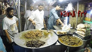 kaleji / liver  fry | Street food of karachi, pakistan 🇵🇰