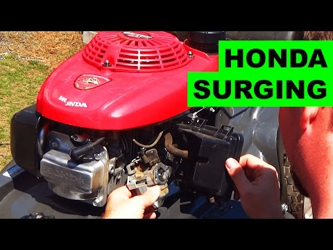 Easy Honda HRX Lawn Mower Surging Fix