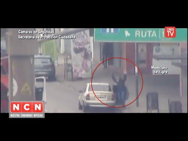 CINCO TV - Cayeron tres ladrones por robar en una carnicería de Tigre