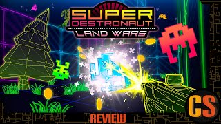 SUPER DESTRONAUT LAND WARS - PS4 REVIEW (Video Game Video Review)
