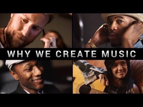 Why We Create Music [Film] - Collaborative Score - Ne-Yo Lady Antebellum Aloe Blacc