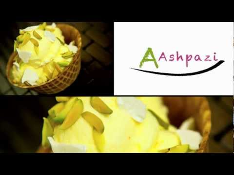 Saffron ice cream (Akbar mashti) bastani recipe