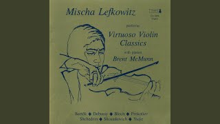 Rhapsody No. 1 for Violin and Piano, BB 94a: II. Friss: Allegretto moderato
