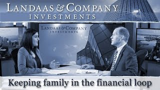 Keeping family in the financial loop