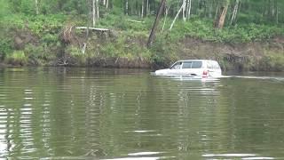 Брод через реку Куанда