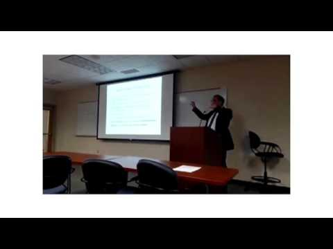 CCD Distinguished Lecture Series - Constantin Alfieris