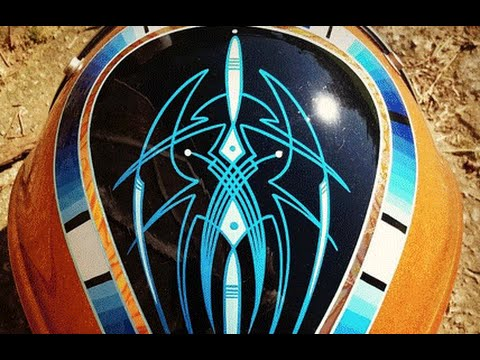 Learn How To Pinstripe Basics Of Pinstriping Tips Tricks From Hot Rod Jen Eastwood Youtube