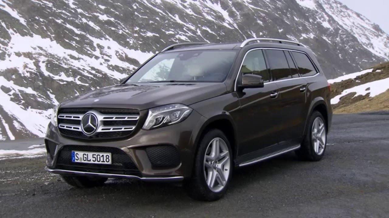 2017 Mercedes-Benz GLS 350d Citrine Brown - YouTube