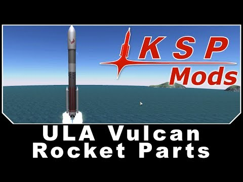 KSP Mods - ULA Vulcan Rocket Parts