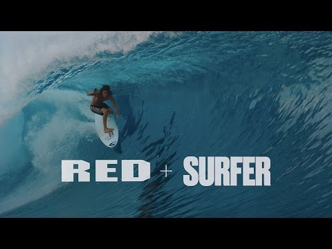 REDirect Surf 2015 - 4K Video - Chris Bryan Shoots Craig Anderson