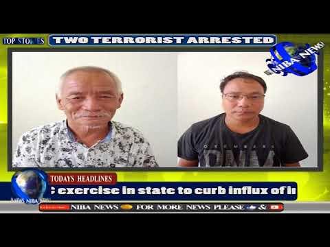 NIBA NEWS : Two top ZUF leaders in Meghalaya cop custody