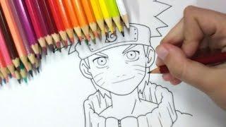 🔴 DESENHANDO AO VIVO! (Pintando Naruto e desenhando Meliodas)