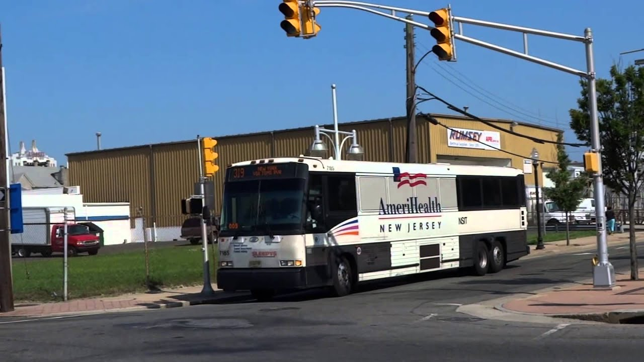 new jersey transit: mci d4000 routes 551, 553 & 554 & mci d4500cl