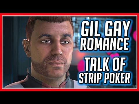 Mass Effect Andromeda 💖 Strip Poker Talk With Gil - Gay Romance Part 2