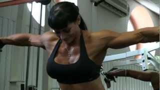 Ms. Universe Maria Kuzmina in Dynamite Gym (Kazan)