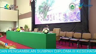 Momen wisuda poltekkes kemenkes kupang 11/09/2019.