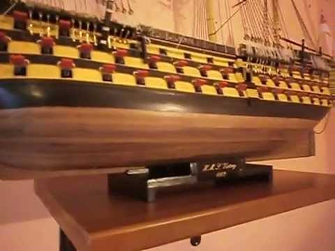hms Victory . hms Sovereign of the seas . hms Prince . model ships 1:78