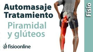 La lateral muscular de estiramiento pantorrilla