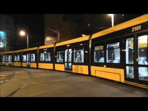 The world's longest tram in Budapest - CAF - Die weltweit längste Straßenbahn
