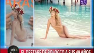 El destape de Cecilia Bolocco a sus años 49 años