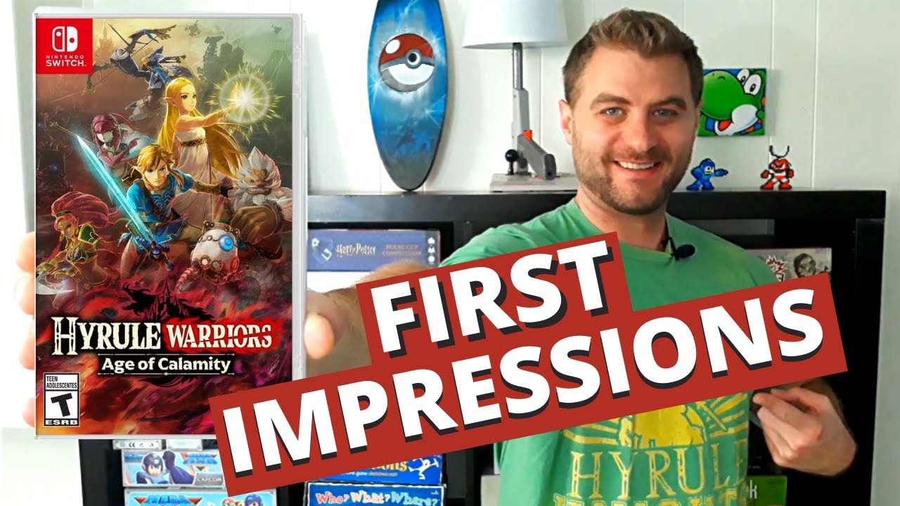Hyrule Warriors Age Of Calamity First Impressions Review Youtube