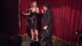 Pop Haydn's Four Ring Routine -- with Hannah