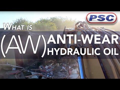 What is an Anti-Wear (AW) Hydraulic Oil?