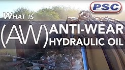 What is an Anti-Wear (AW) Hydraulic Oil?