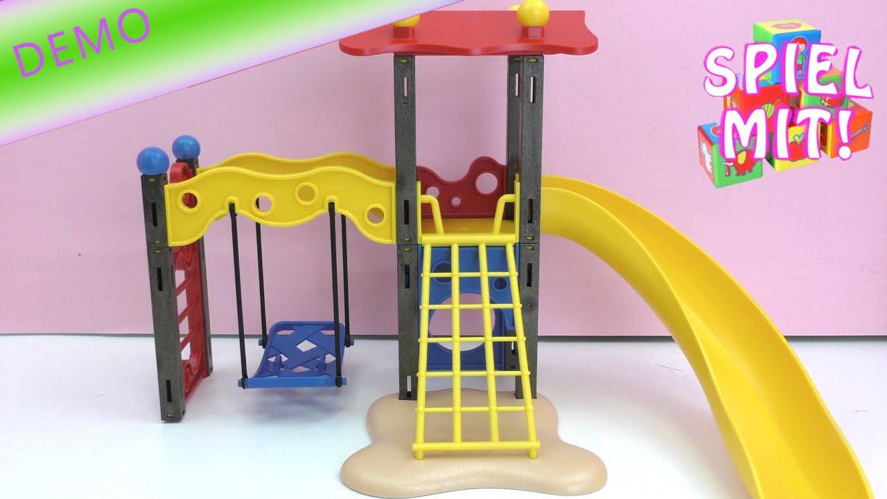 Playmobil Spielplatz Teil 1 - Unboxing und Aufbau / Spielplatz mit ...