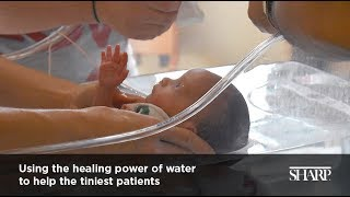 Hydrotherapy in the Sharp Mary Birch NICU