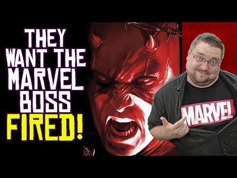Media Wants Marvel Comics Editor-in-Chief FIRED! And RIGHT NOW!