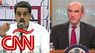 "Elliott Abrams advierte a Nicolás Maduro: ""Vamos a incrementar su aislamiento"""