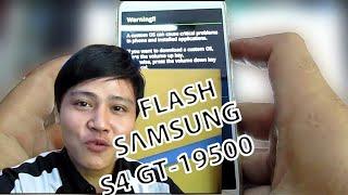 Cara Flash Samsung S4 GT-19500