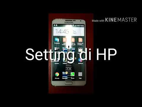 Tutorial setting mirror link HP Samsung ke Head Unit SKELETON SKT 8189