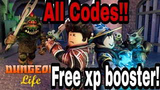 Roblox Dungeon life codes!