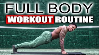 20 MINUTE FULL BODY WORKOUT(NO EQUIPMENT)