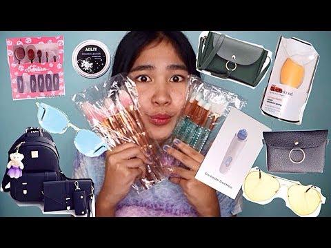 HUGE Shopee Haul + How to order on Shopee (Mura, fashionicon18, etc.) | Philippines| Positive Jane