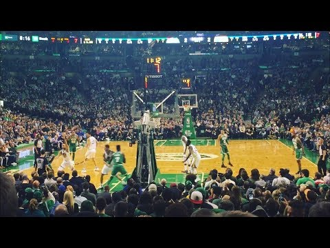 CELTICS VLOG!! WARRIORS VS CELTICS!! ELECTRIFYING ATMOSPHERE!! IT CAME DOWN TO THE WIRE!!!