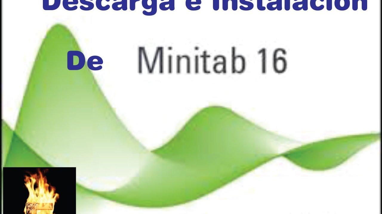 Como instalar minitab 16 español full youtube.