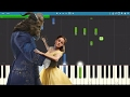 Celine Dion How Does A Moment Last Forever Piano Tutorial Beauty The Beast Soundtrack