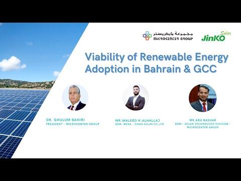 Solar Energy in Bahrain & GCC: Recent Trends & Way Forward