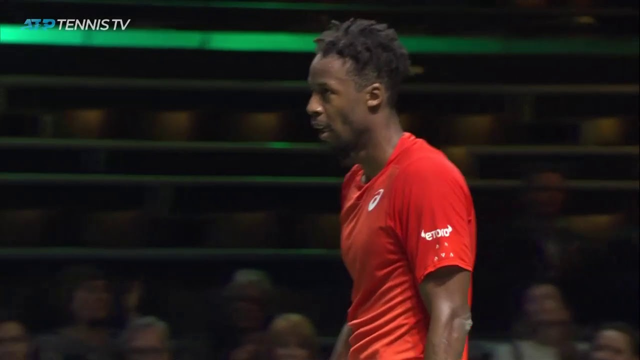 Match Point: 'Vintage' Monfils Finishes Off Goffin In Rotterdam 2019
