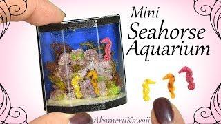 How to: Mini Seahorse Aquarium / Fish Tank - Miniature Resin Tutorial