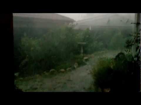 Canberra Australia Day Thunderstorm 2013
