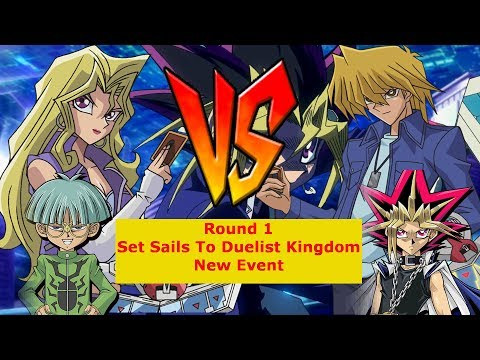Round 1 (Stage 1) Complete + 100% Coins!!! || Set Sails To Duelist Kingdom || Duel Links