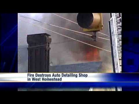 Detail Shop Burns For Hours In West Homestead