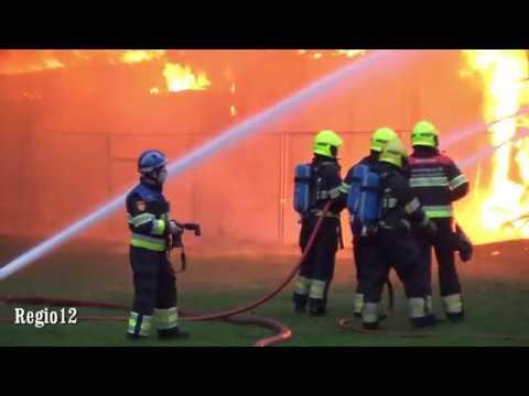 Zeer grote brand Brand GRIP 1 Bleyenhoevelaan Velsen-Noord