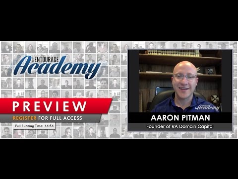 Secret Academy - Aaron Pitman of RA Domain Capital