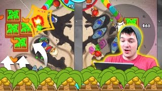 Bloons TD Battles | Solo REMATCH Win! OMG BANANA FARMS!